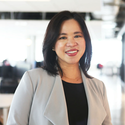 Olivia De Jesus (US FWN100™ '12) as New Global COO is ABS-CBN's new Global COO