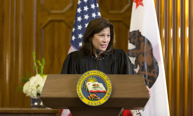 Chief Justice Tani Cantil-Sakauye (US FWN100™ '07) of the California Supreme Court