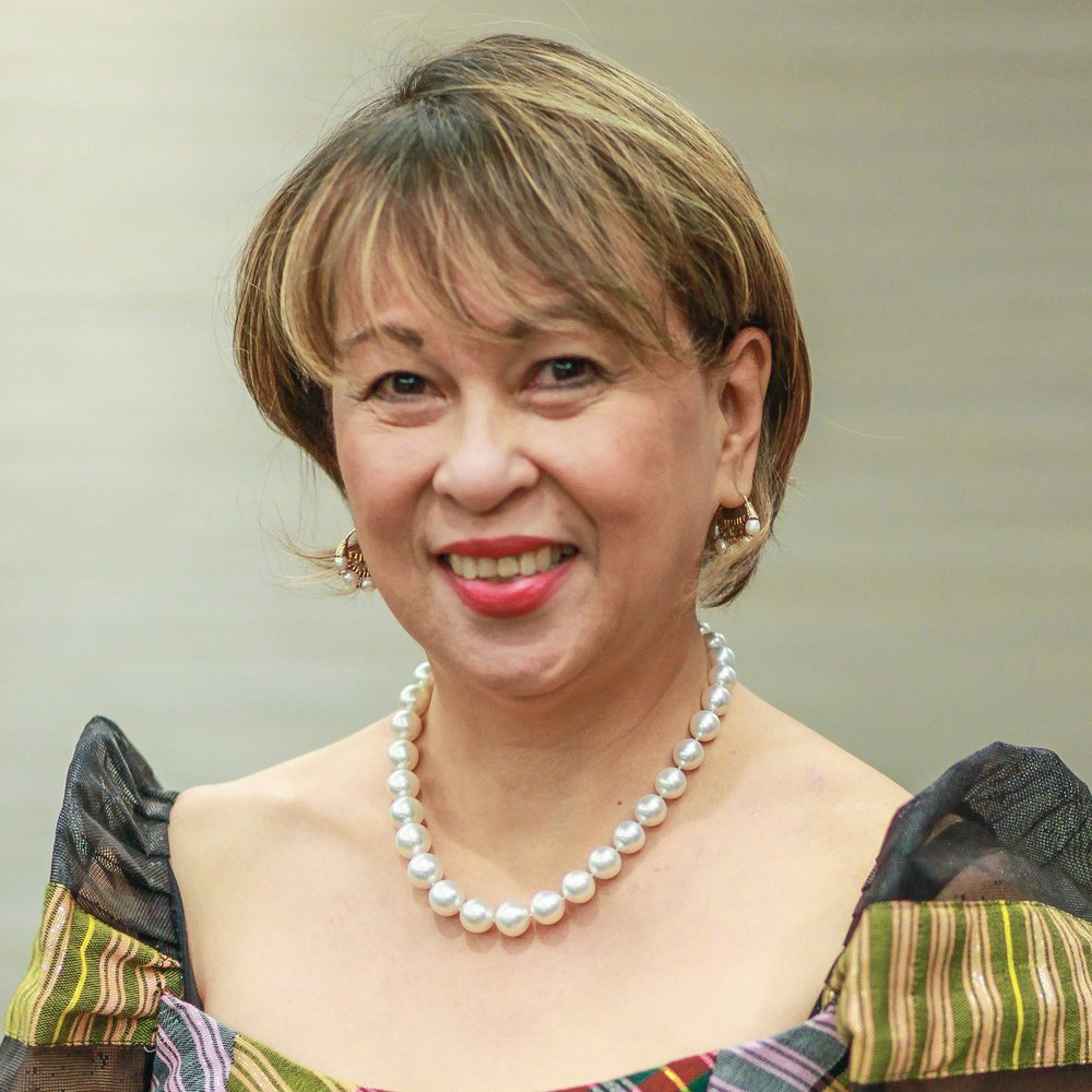 "<b>Fidelina ""Faye"" Adan Corcuera</b><br>Executive Director (Ret.),<br>BPI Foundation<br>Chief Sustainability Officer (Ret.), BPI"
