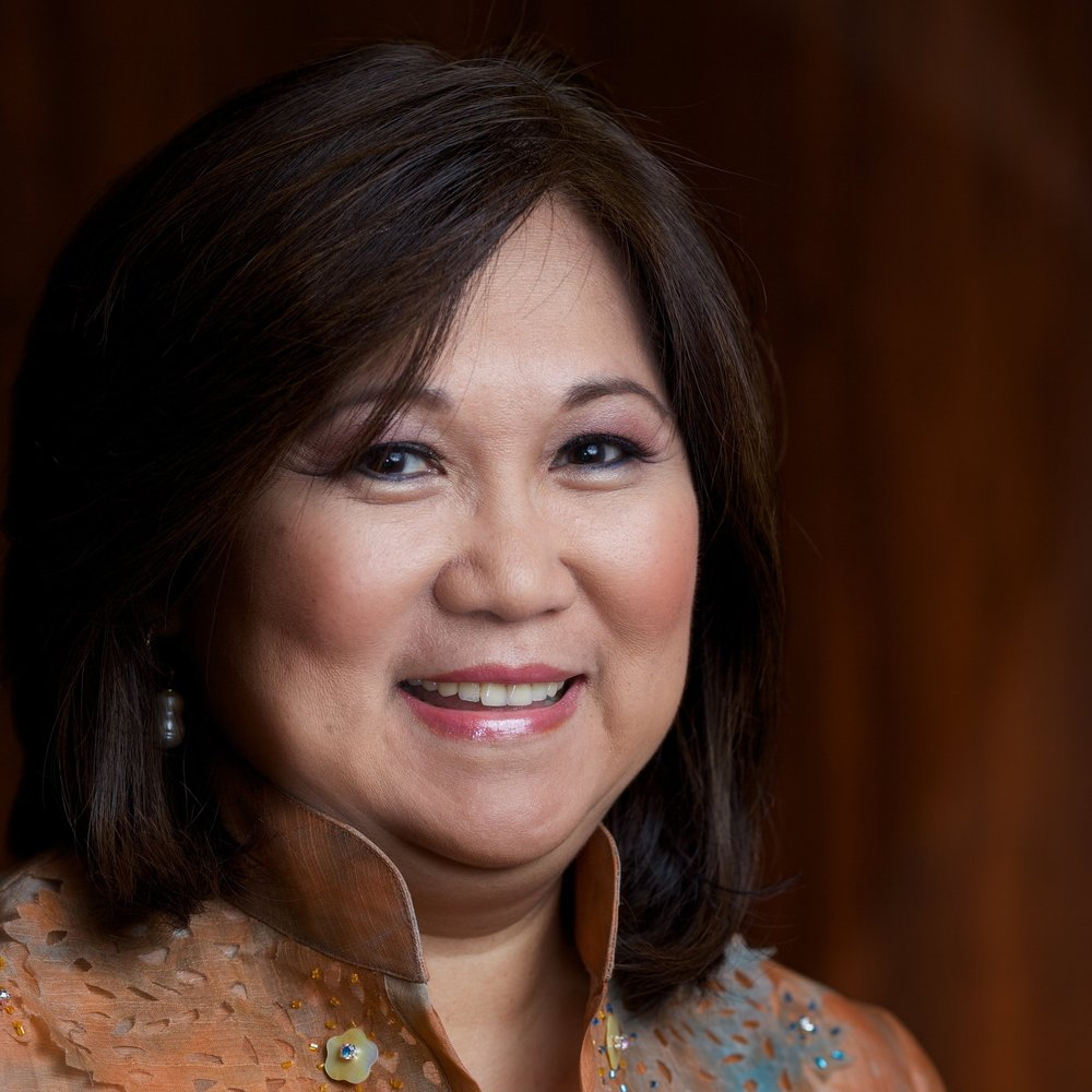<b>HON Marily Mondejar<br>Executive Producer</b><br>Founder & CEO<br>Filipina Women's Network;<br>Chair and President<br>Commission on Community<br>Investment and Infrastructure
