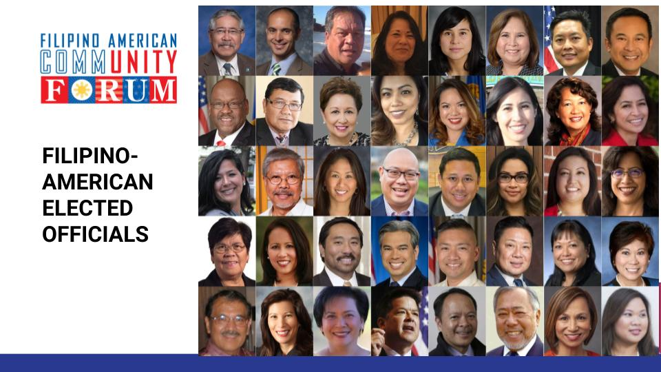 Filipino Americans elected during the November 2018 mid-term elections in the U.S. were recognized at the FilAm Victory Celebration on January 31, 2019 in San Francisco. (Photo Collage by Al Perez)