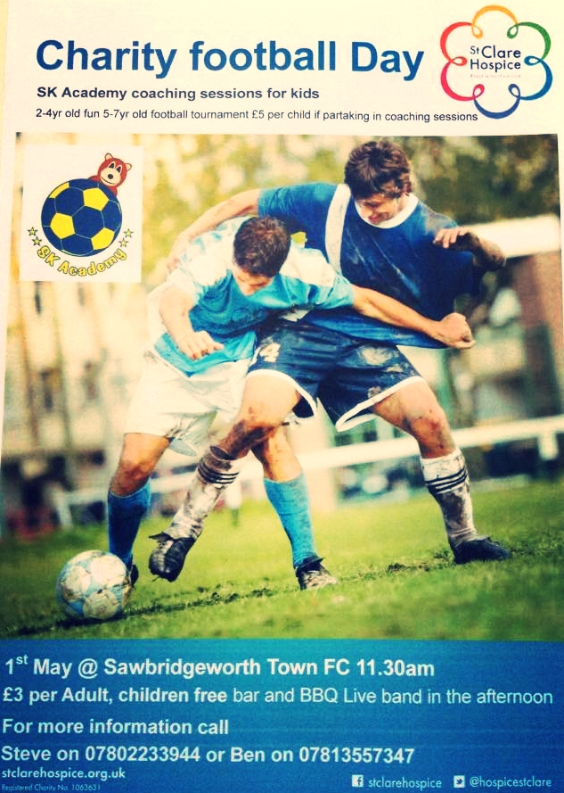 SK Sports Academy Funday at Sawbridgeworth Town FC