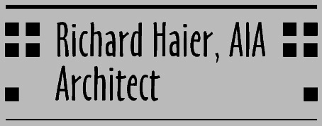Richard Haier, AIA Architect