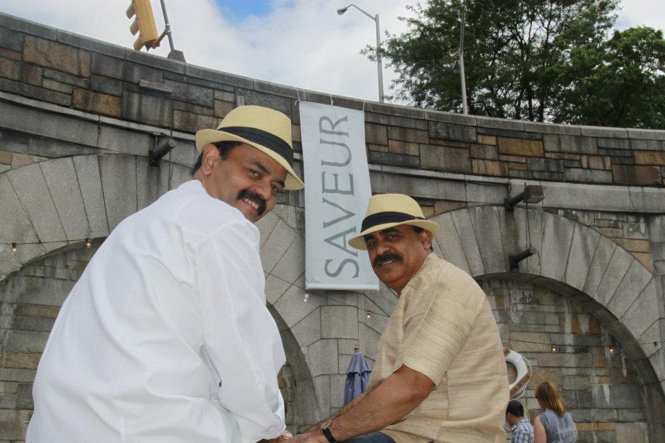 Chef K.N.Vinod and Restaurateur  Surfy Rahman