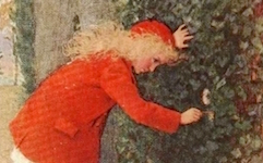"(Image from the cover of ""The Secret Garden"" by Frances Hodgson Burnett, 1910)"