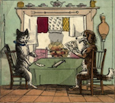 "Image from The Comic Adventures of ""Old Mother Hubbard and Her Dog"" - 1819)"