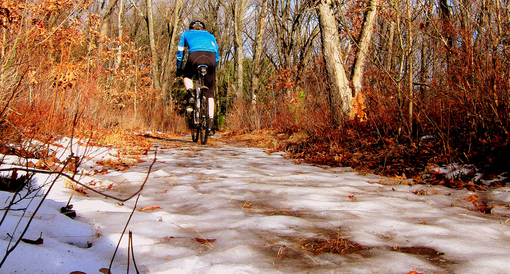 The Icy Trail - photo - Rob Vandermark