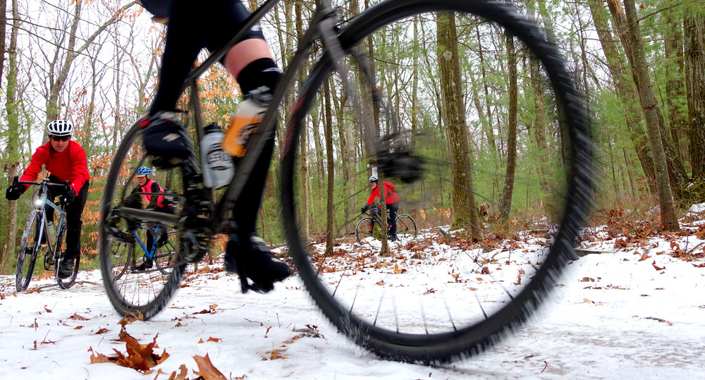 Icy Trails are the Best - photo - Rob Vandermark