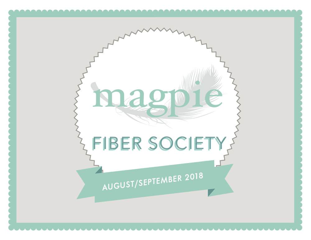 Join the Society - The Magpie Fiber Society is open to new members until August 15th. If you missed out on sign-ups when we launched, this is your chance to join and start getting 10% off purchases, access to exclusive colorways and so much more! 👈🏼 Click the image at left for more info