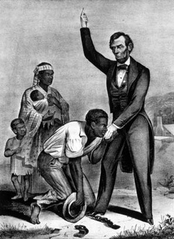 "Emancipation and Lincoln's Assassination solidified Lincoln as the ""Great Emancipator."""