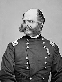 Burnside is more famous for the disaster at fredericksburg, but he gained his command of the army because of New bern.