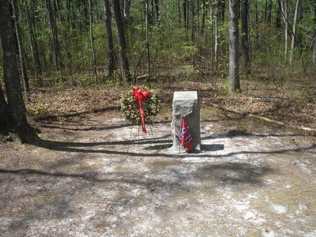 this small monument marks the site of a. p. hill's death near petersburg.
