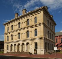 Independence hall in wheeling, wv was the site of conventions forming the new state of wv.