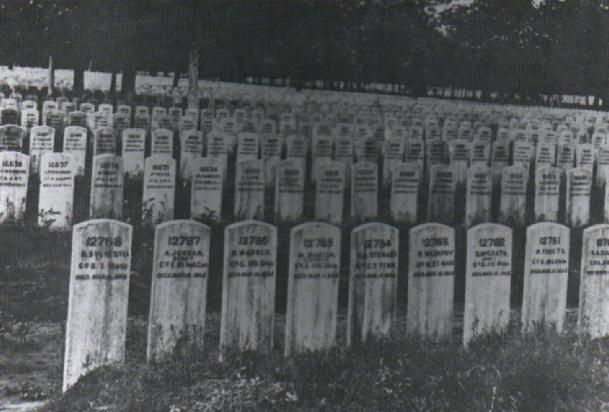 The original headstones of many national cemeteries were wooden and later replaced with stones.