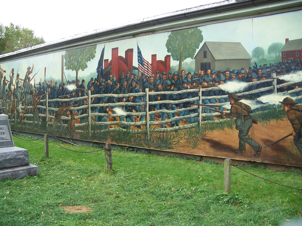 the mural at kuhn's brickyard