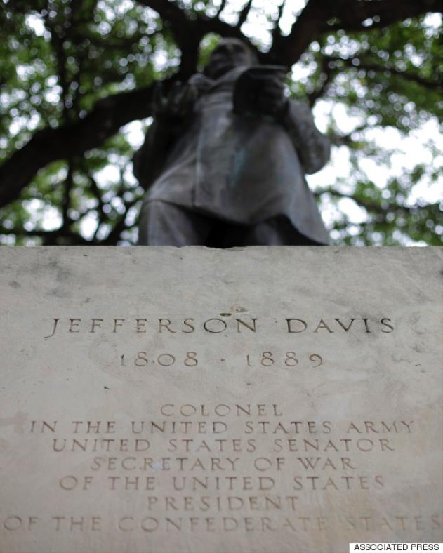 Statue of Jefferson Davis UT Austin Campus