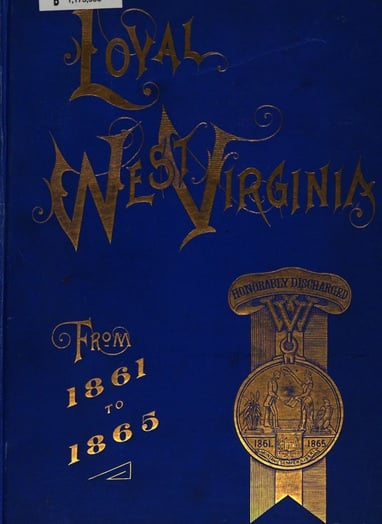 Cover of Lang's Loyal West Virginia, a Useful Resource