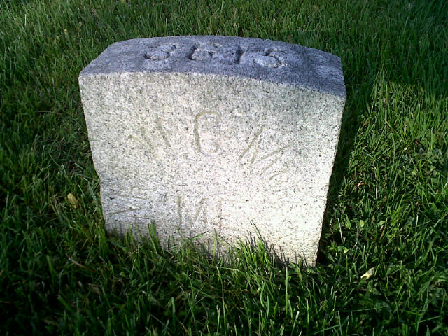 Grave of William C. Morgan.