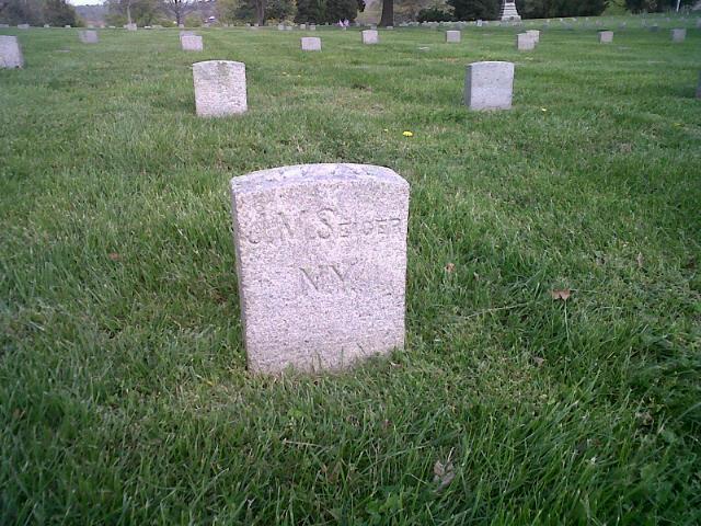 Grave of Joseph Seiger