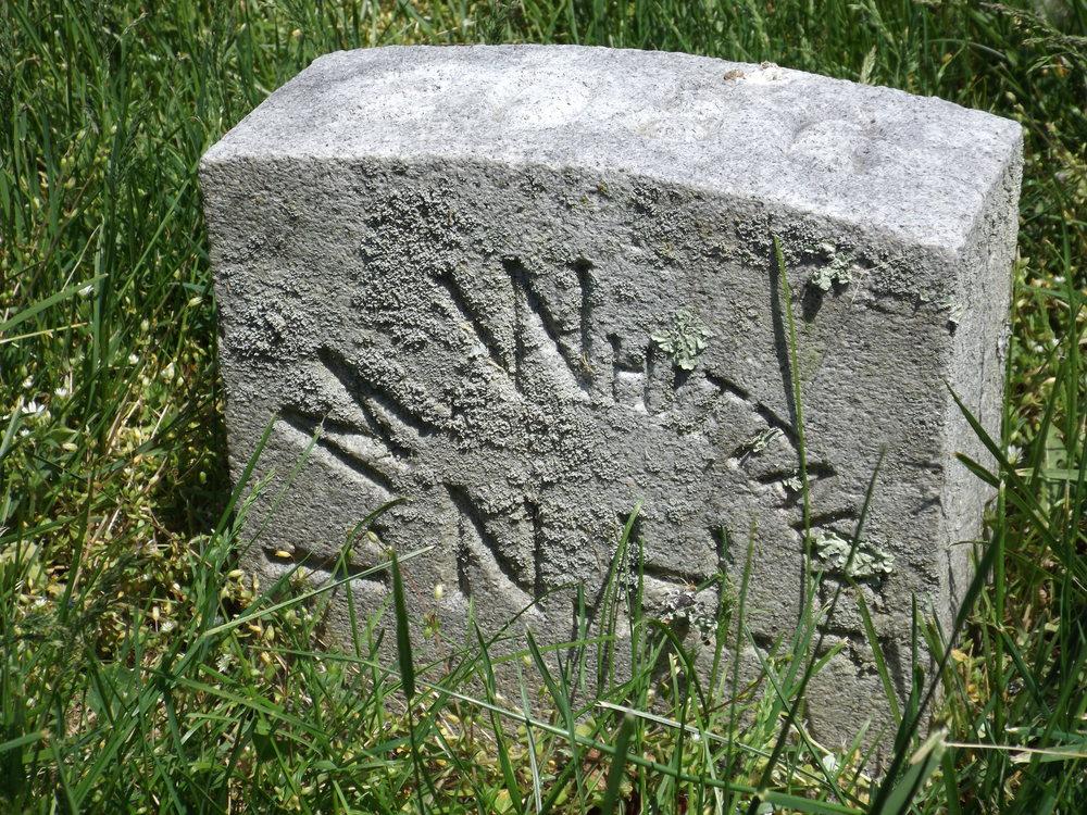Ira Whitaker's Grave