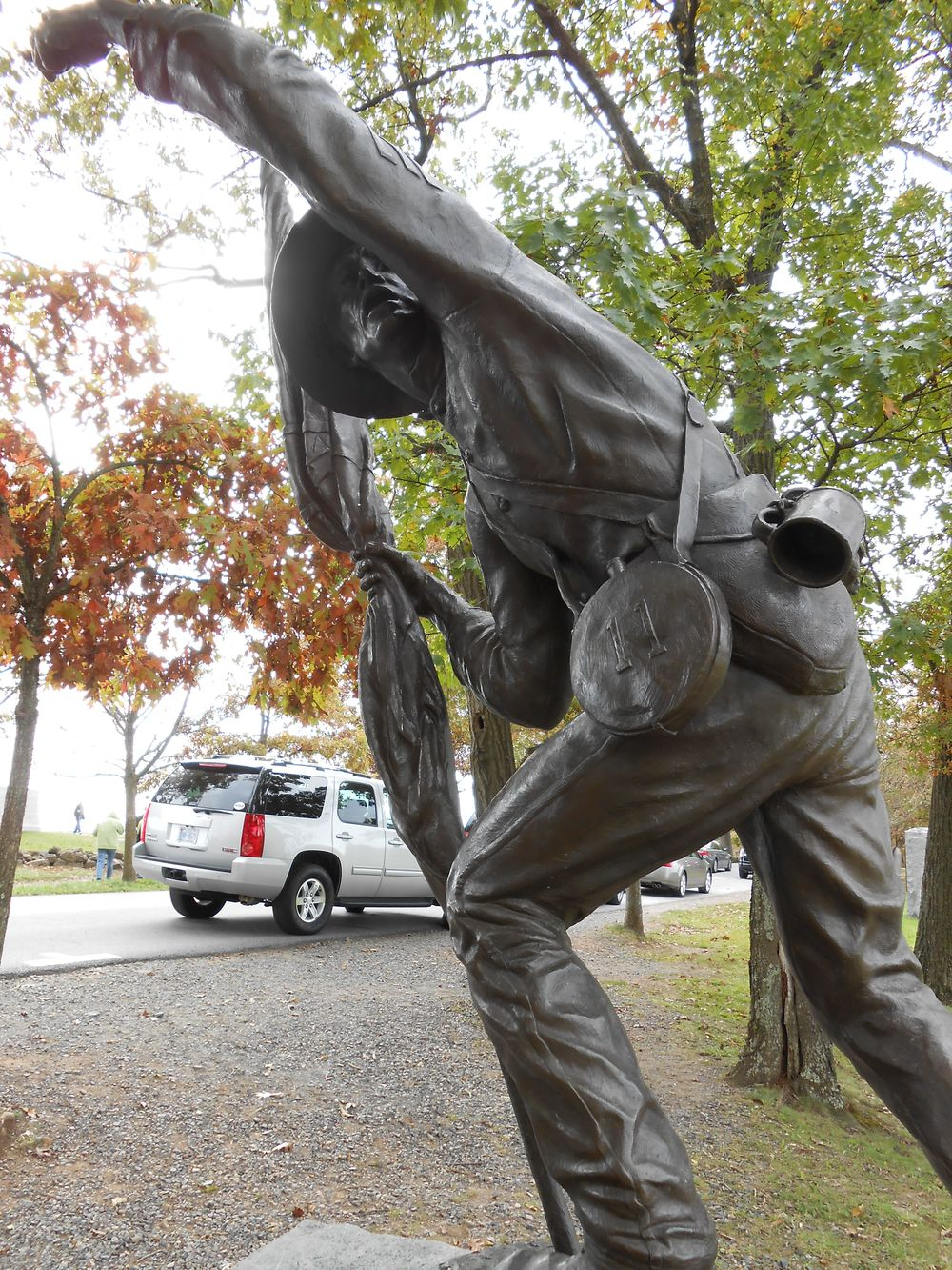 Monument to the 11th Mississippi at Gettysburg (photo by author)