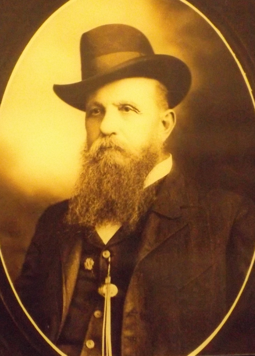 William Fuller, the General's conductor (Southern Museum of Civil War and Locomotive History)