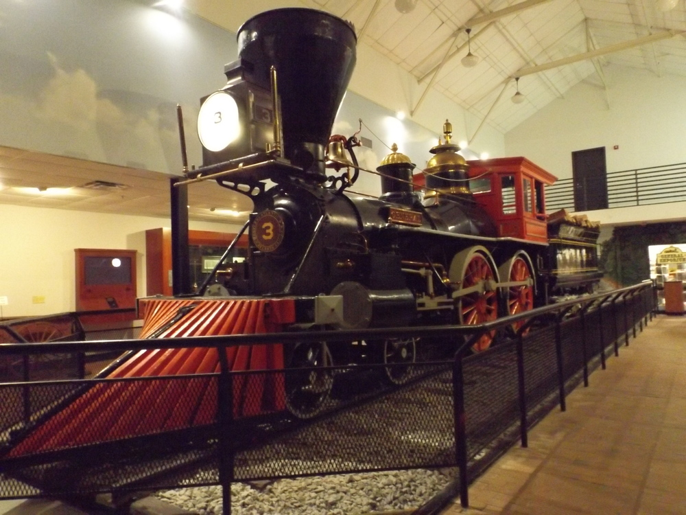 The  General at the Southern Museum of Civil War and Locomotive History (photo by author)