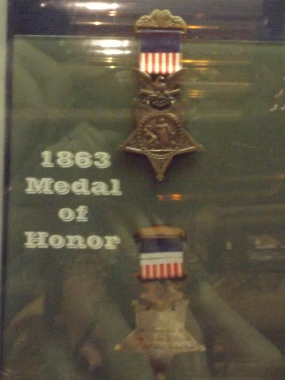 The Medals of Honor awarded to Brown and Scott are on display at the Southern Museum of Civil War and Locomotive History
