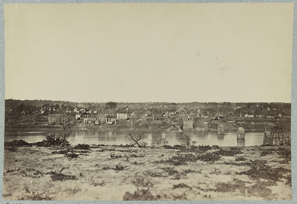 In places like Fredericksburg, Virginia, pictured here in 1863, African-Americans blurred the lines of slavery during wartime