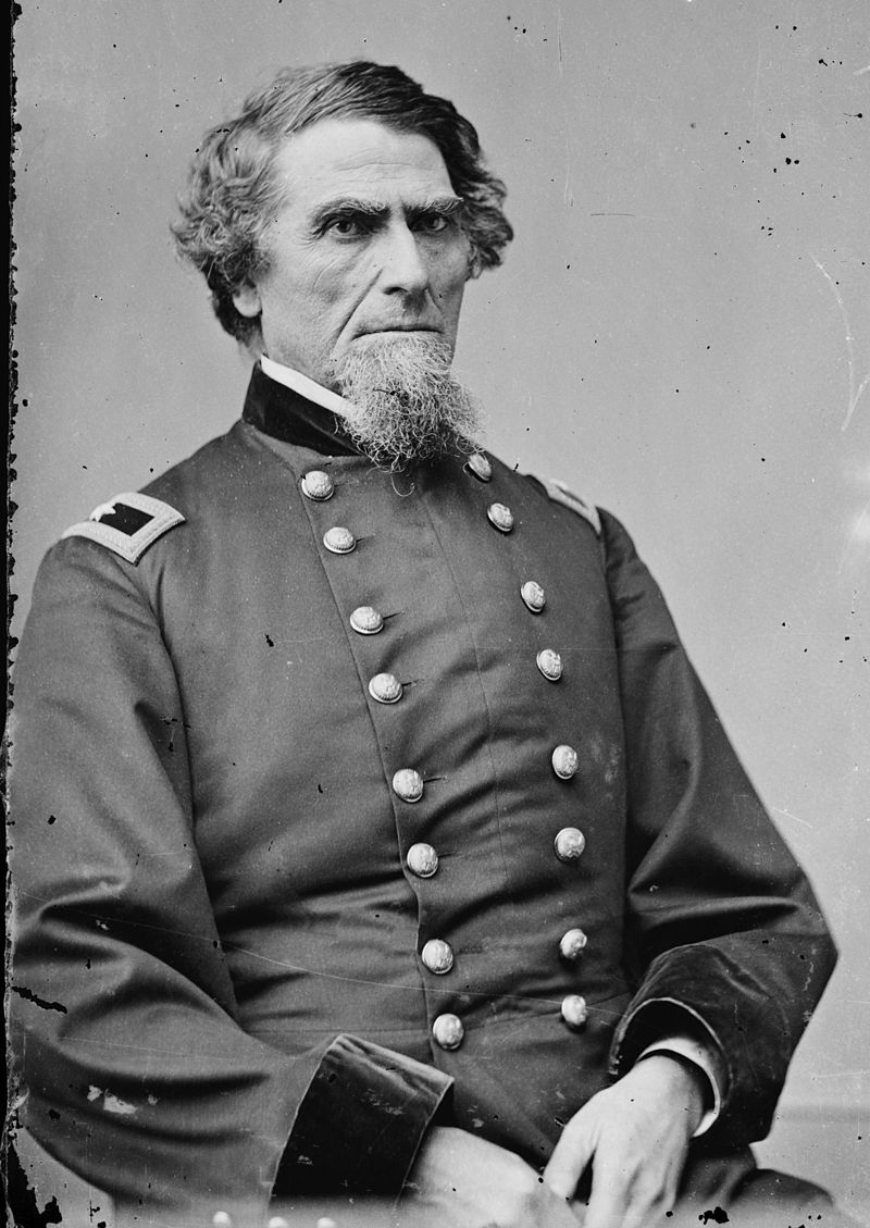 "Strother thought General Benjamin F. Kelley possessed ""an air of great determination"""