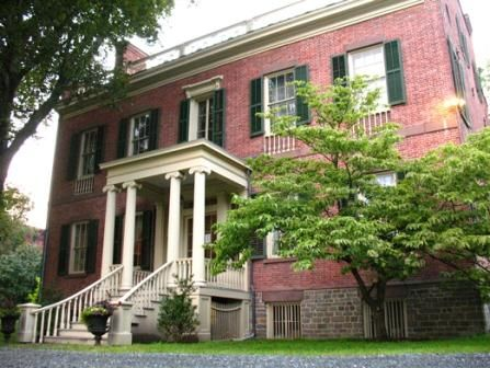 Ten Broeck Mansion in Albany, NY.