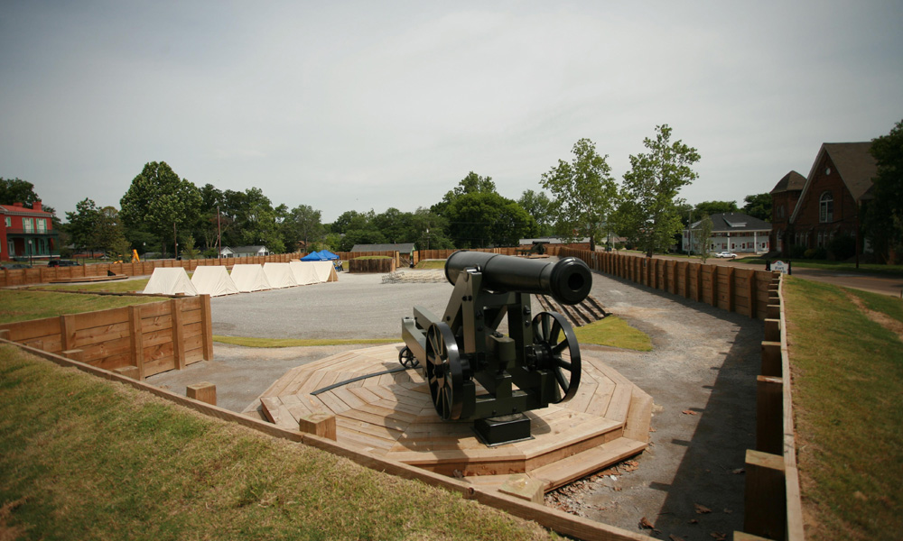 Photo: http://visithelenaar.com/attractions/civil-war-helena/new-fort-curtis/