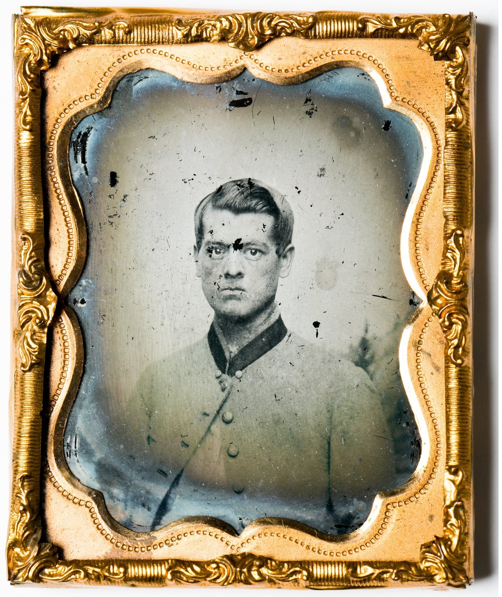 Corporal Dan Daugherty served in the Chesapeake Artillery during the Maryland Campaign. Author.