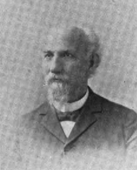 Capt. George Hulick, Pictured in the 1890s
