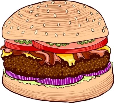 Las hamburguesas también son sándwiches y todas las personas con alma aman a las hamburguesas.