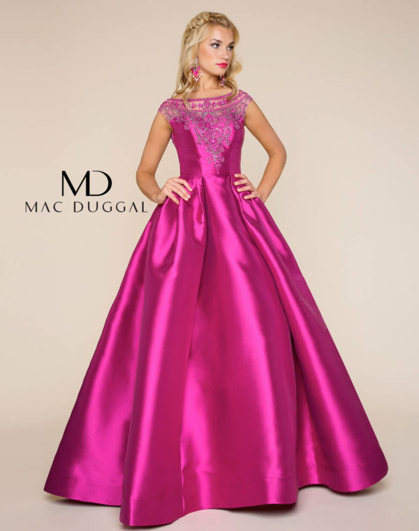 Magenta Evening Gown — Forever After