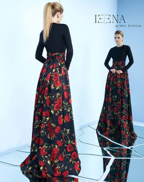 Black Rose Evening Gown — Forever After