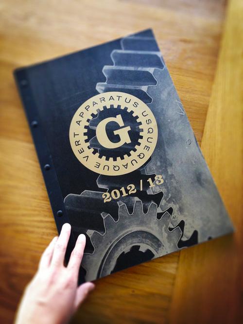2012/13 Garage Team Mazda Yearbook — BryanKestell.com