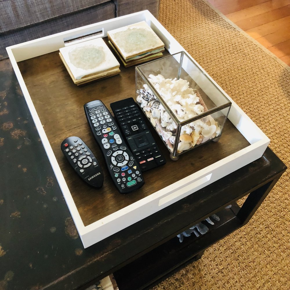 Marie Kondo   is on to something (LOL) with her boxes within boxes organizing tip! It's an easy way to organize smaller items within an open drawer or larger container so they are both visible and neat when looking for that smaller item. It can save you time, and frustration.    If you have been on another planet and haven't yet checked out Marie Kondo on   Netflix   ,  I highly recommend spending a Sunday afternoon to catch up on this great series on her Konmari method of organizing and decluttering. It's much like the way I teach Designing With Mana to enhance Visual Peace and create long lasting wellbeing within your environments.
