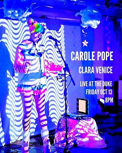 🔥 TOMORROW IS FRIDAY THE 13TH AND CAROLE POPE AND I ARE PLAYING LIVE AT THE DUKE (TORONTO) - COME HANG WITH US, I PROMISE NO BAD VIBEZ! 🔥👏