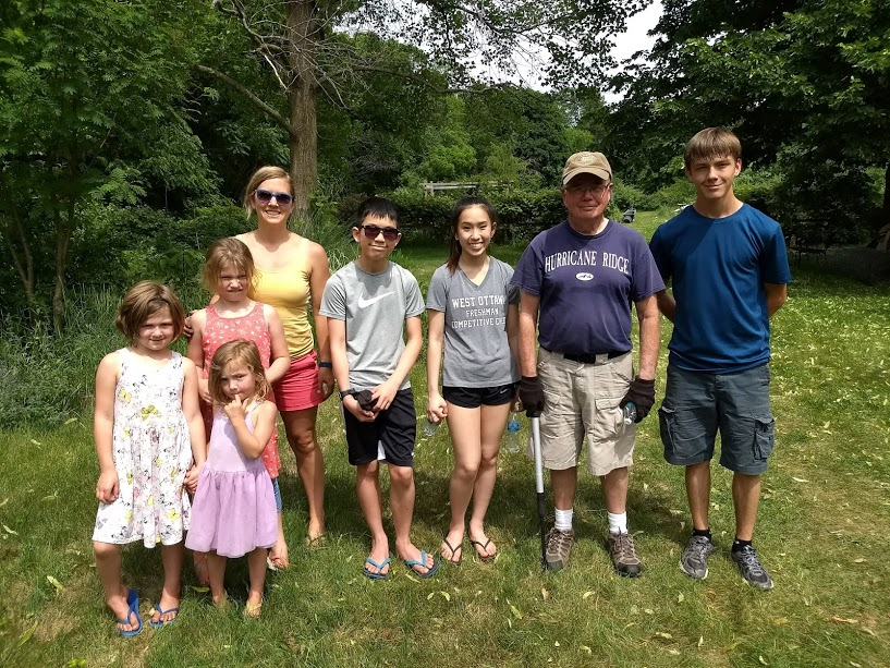 I love that we value multi generational ministry. This team went to bless Teacher Pieter and help out in his garden.