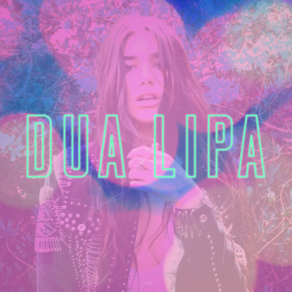 Dua Lipa invite artwork