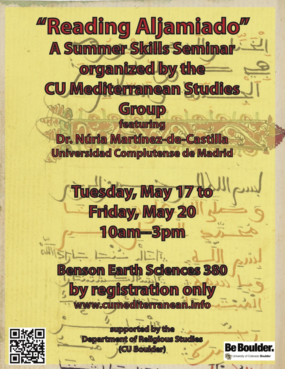 cu mediterranean studies group the mediterranean seminar seminar featuring dr nuria martínez de castilla universidad complutense de madrid • cu boulder • see the announcement • applications are closed