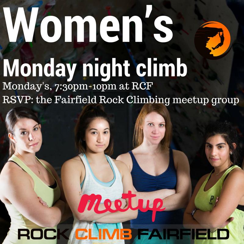 women's climbing meetup