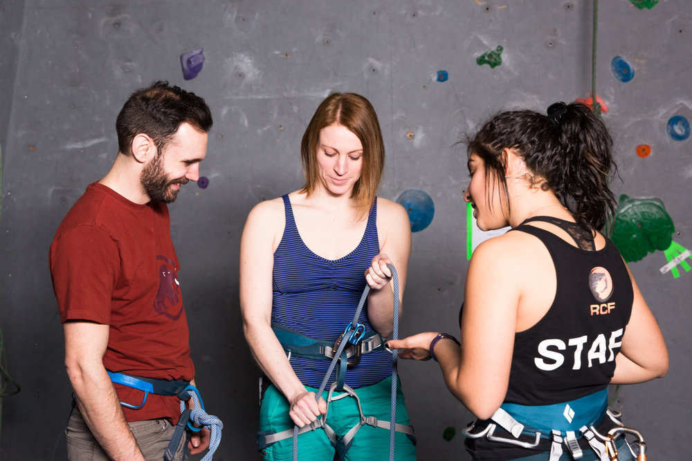 waiver ,  learn to belay