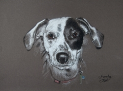 Bailey Brunelle's portrait by Sandy Lee Fine Art