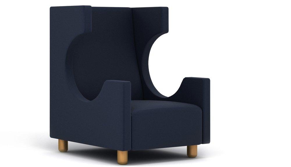 Kong Sofa - 多款面料, 木W830 * D770 * H1070B级面料 15599CNY
