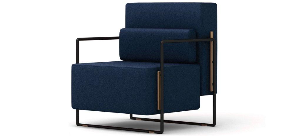 Suit Single Sofa - 金属, 多款面料W640 * D780 * H780 A级面料 9599 CNY B级面料 10999CNY