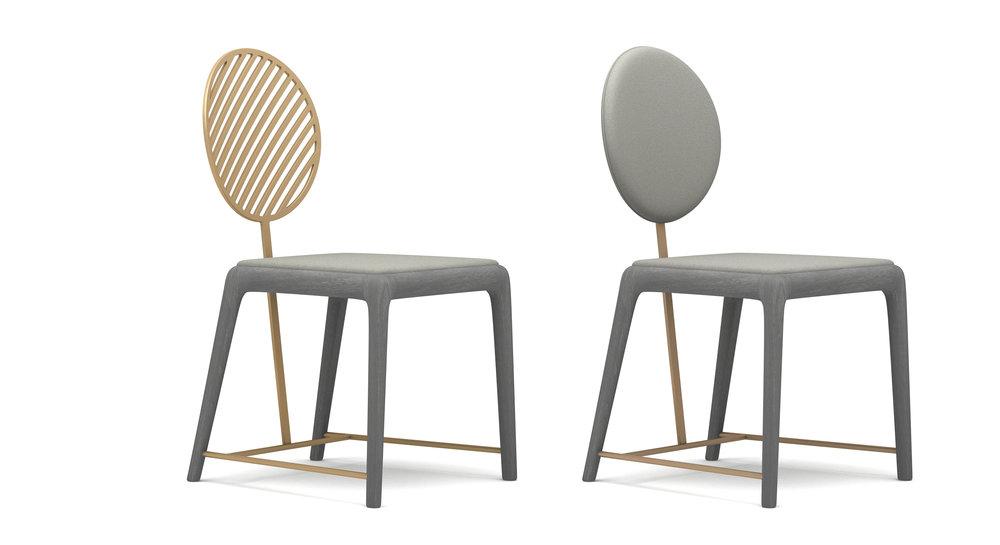 Fan Chair - Metal, Wood,Multi Class FabricsW470 * D534 * H888◍ Class A 8199 CNY◍ Class B 9099 CNY● Class A 6999 CNY● Class B 7599 CNY