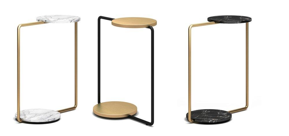 Fan Side Table - W470 * D260 * H5551599 CNY 起